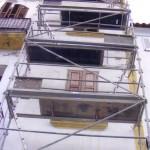 Andamios homologados para rehabilitacion de fachadas