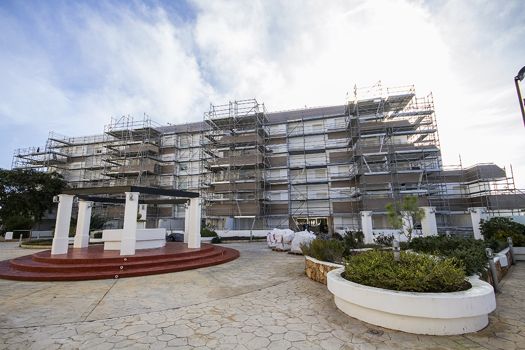 Montaje de andamios Ibiza
