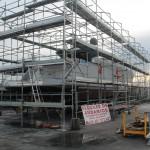 Andamios homologados para reparacion de barcos Ibiza