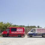 Vehiculos de alquiler andamios en Ibiza